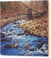 Russell River Wood Print