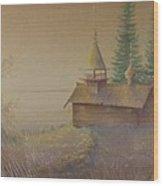 Russian Chapel Wood Print