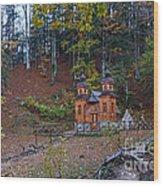 Russian Chapel - Vrsic Pass - Slovenia Wood Print