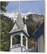 Russian Orthodox Church Bell Tower Wood Print