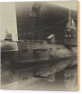 Russian Submarine Heirloom 01 Wood Print