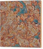 Rust Abstract Wood Print