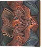Rust Flow Wood Print