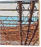 Rusted Dreams Wood Print