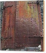 Rusted Wood Print