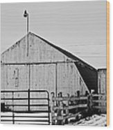 Rustic Barn 2 - 2 Wood Print