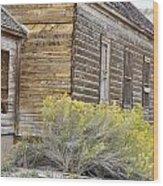 Rustic Building Wood Print
