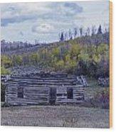 Rustic Cabin Wood Print
