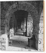 Rustic Castle Inn 3 Wood Print