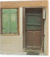 Rustic Door Wood Print
