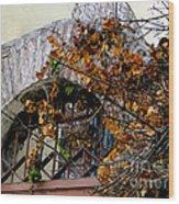 Rustic El Vergel Transom Wood Print