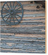 Rustic Ornamentation - Yates Mill Pond Wood Print