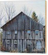 Rustic Places Wood Print