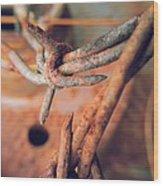Rustic Rust Wood Print