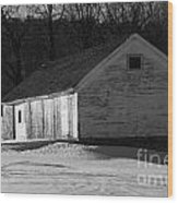Rustic Shack 2 Wood Print