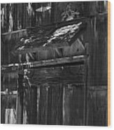 Rustic Shed 3 Wood Print