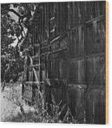 Rustic Shed 6 Wood Print