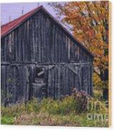 Rustic Vermont Barn Wood Print