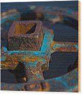 Rusty 1 Wood Print