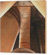 Industrial Vacuum  Wood Print