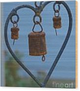 Rusty Heart 3 Wood Print