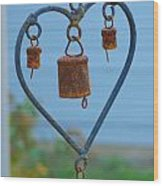 Rusty Heart 4 Wood Print