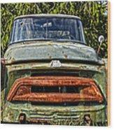 Rusty Lip  Wood Print