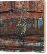 Rusty Nash Wood Print