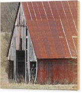 Rusty Ole Barn Wood Print