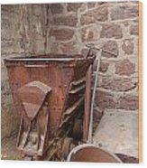 Rusty Ruins In Jerome Arizona Wood Print