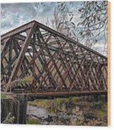 Rusty Sal  7d07856h Wood Print