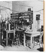 Rutherford's Cavendish Laboratory Wood Print
