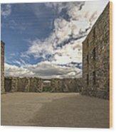 Ruthven Barracks - 5 Wood Print