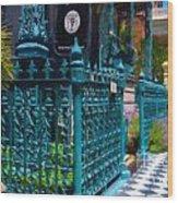 Rutledge House Wood Print