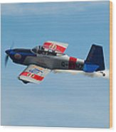 Rv8tors Flyby Wave Wood Print