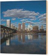 Rva Cityscape Wood Print