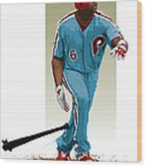 Ryan Howard Wood Print