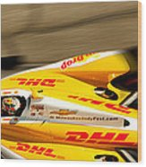 Ryan Hunter-reay Wood Print by Denise Dube