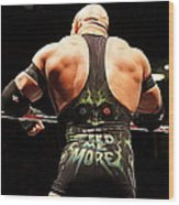 Ryback Feed Me More Wood Print
