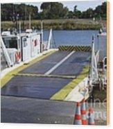 Ryer And Grand Island Ferry Wood Print