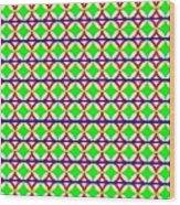 Rygb Squarecirclearcfilled Wood Print