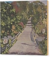 S. Dyer Neck Rd. - Art By Bill Tomsa Wood Print