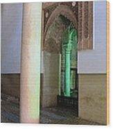 Saadian Tomb 3 Wood Print