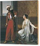 Sabatelli, Gaetano 1842-1893. Otello Wood Print
