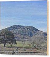 Sabinal Country Wood Print