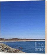 Sachusett Beach 4 Wood Print
