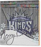 Sacramento Kings Wood Print