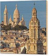 Sacre Coeur - Paris Wood Print
