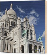Sacre Coeur Paris Wood Print