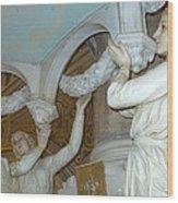 Sacred Angels Wood Print